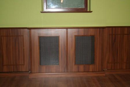 Fal-, és radiátorburkolat perforált lemez betétekkel