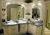 Dupla mosdóval gyártott exluzív fürdőszoba