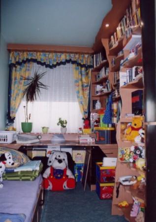 Gyermekszoba ívelt kivitelben