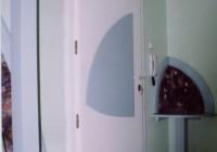 Társasházi bejárati ajtó