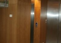 Liftház burkolata
