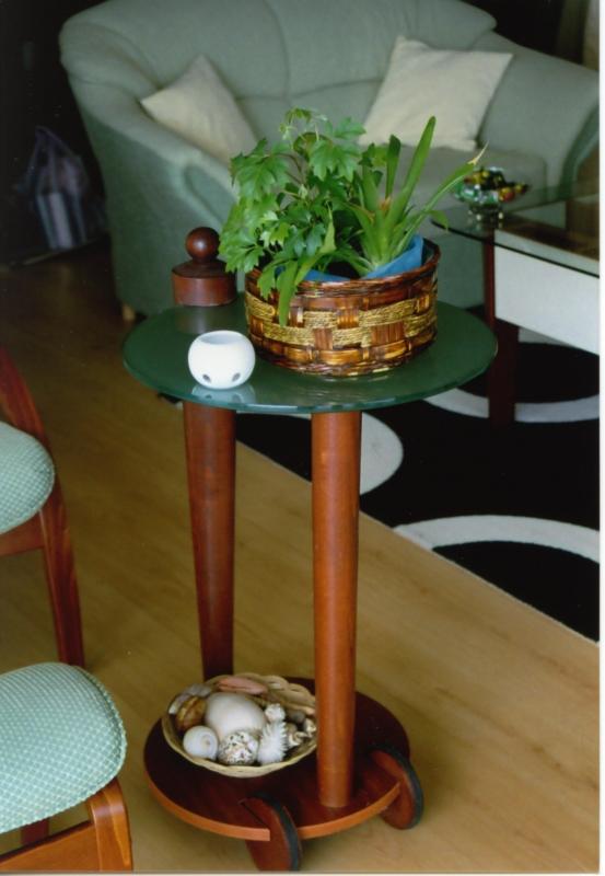 Lerakó asztal