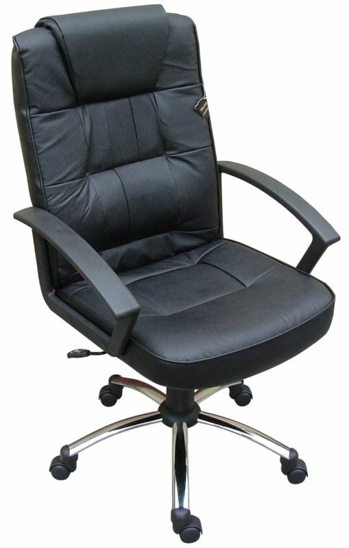 LGA 68 CR bőr főnöki fotel